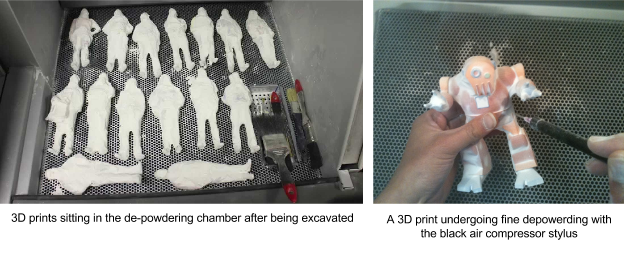3D printed figurines in a tray Twindom