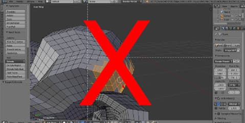 no advanced 3d software
